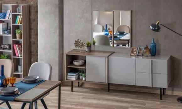 Evmoda Mobilya - Flat Modern Yemek Odası Takımı (1)