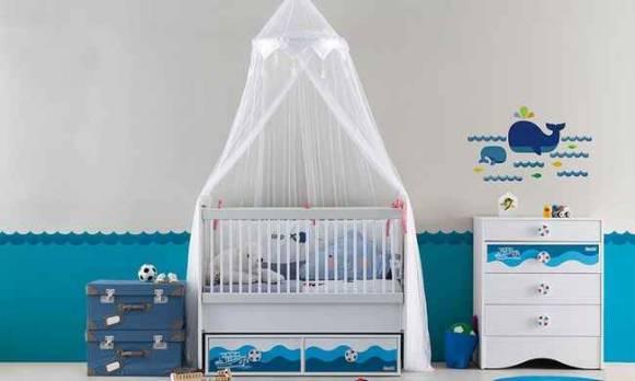 Evmoda Mobilya - Fora Bebek Odası Takımı (1)
