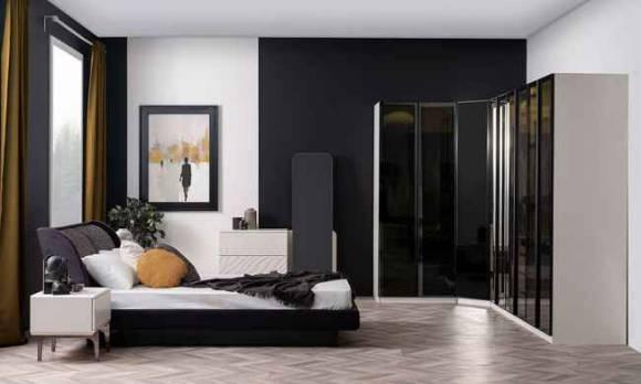 Evmoda Mobilya - Fujin Modern Giyinme Odası Takımı