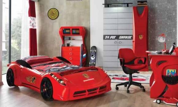 Evmoda Mobilya - Garage Arabalı Çocuk Odası Takımı