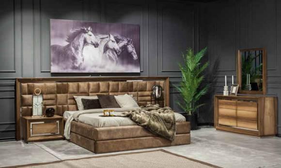 Evmoda Mobilya - Genona Modern Yatak Odası Takımı (1)