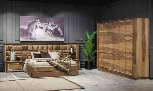 Evmoda Mobilya - Genona Modern Yatak Odası Takımı