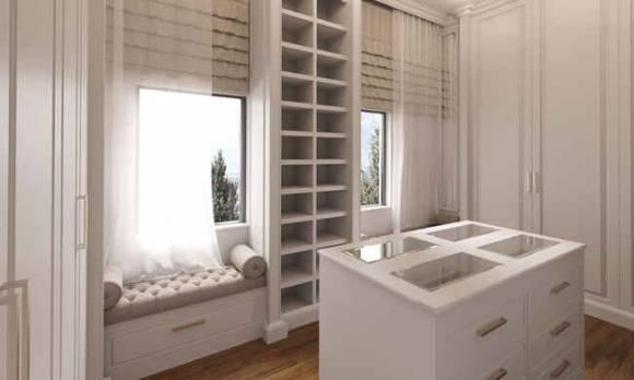 Evmoda Mobilya - Giyinme Odası Projesi