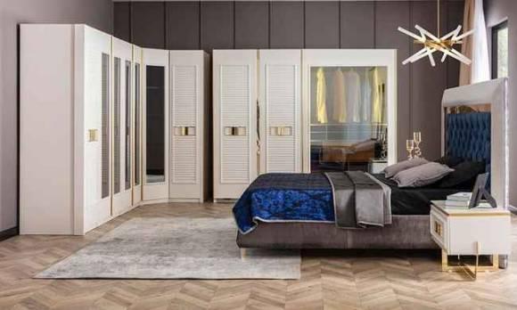 Evmoda Mobilya - Gloria Modern Giyinme Odası Takımı (1)
