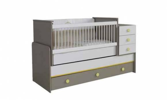 Evmoda Mobilya - Gökkuşağı Bebek Odası Takımı (1)