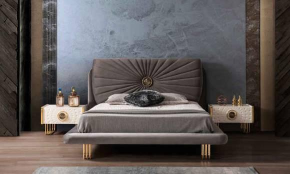 Evmoda Mobilya - Goldis Modern Yatak Odası Takımı (1)