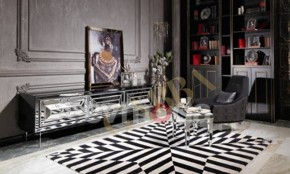 Evmoda Mobilya - Guess Art Deco Tv Ünitesi
