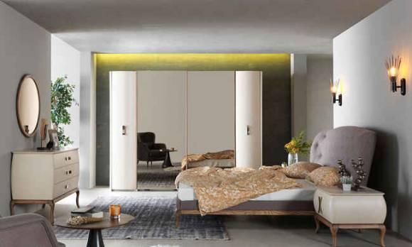 Evmoda Mobilya - Helena Modern Yatak Odası Takımı