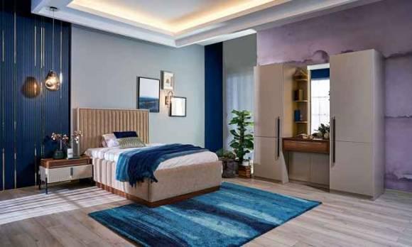 Evmoda Mobilya - Henna Genç Yatak Odası Takımı