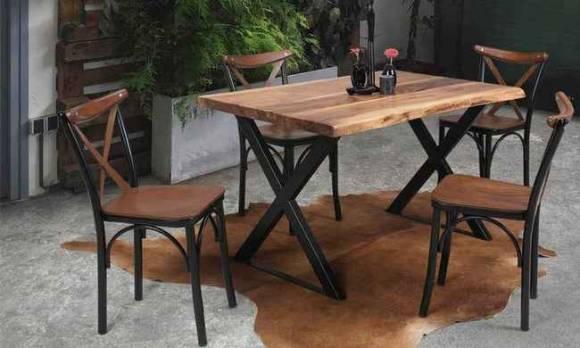 Evmoda Mobilya - Hibron Mutfak Masası Takımı