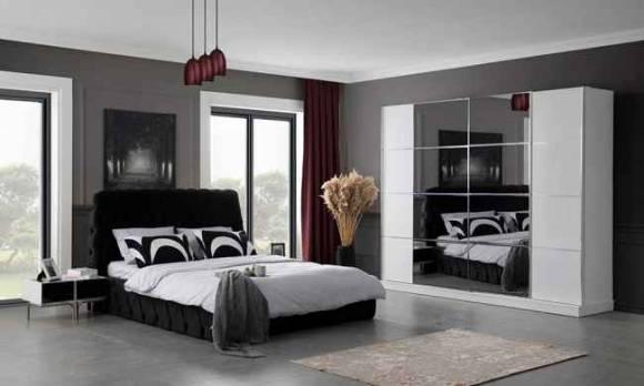Evmoda Mobilya - Hira Modern Yatak Odası Takımı (1)