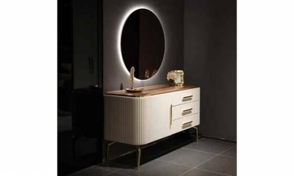 Evmoda Mobilya - Kamelya Şifonyer ve Aynası