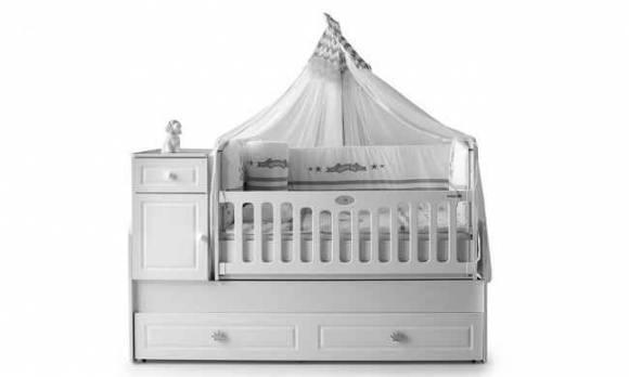 Evmoda Mobilya - Kral Bebek Odası Takımı (1)