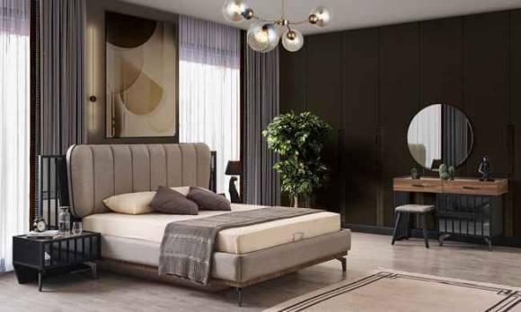 Evmoda Mobilya - Latte Modern Yatak Odası Takımı (1)