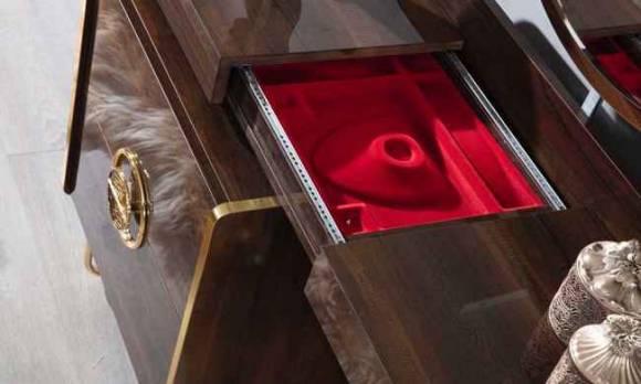Evmoda Mobilya - Lilyum Şifonyer ve Aynası (1)