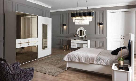 Evmoda - Line Modern Yatak Odası Takımı (1)