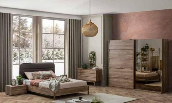 Evmoda Mobilya - Liya Modern Yatak Odası Takımı