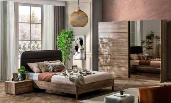 Evmoda Mobilya - Liya Modern Yatak Odası Takımı (1)