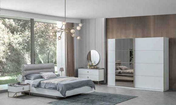 Evmoda Mobilya - Local Gold Modern Yatak Odası Takımı