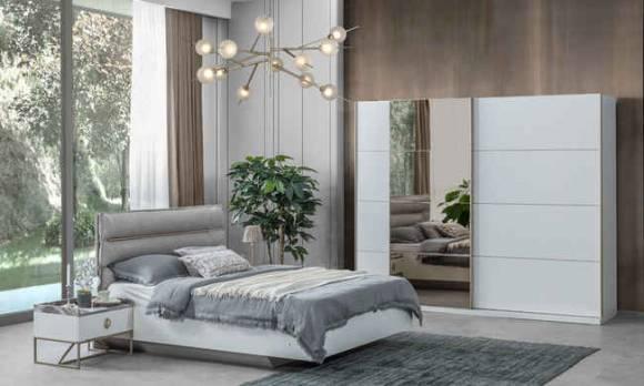 Evmoda Mobilya - Local Gold Modern Yatak Odası Takımı (1)