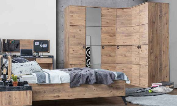 Evmoda Mobilya - Local Modern Giyinme Odası