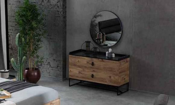 Evmoda Mobilya - Local Şifonyer ve Aynası