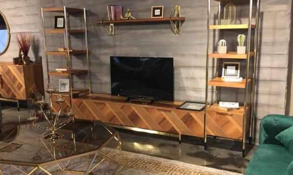 Evmoda Mobilya - Paris Modern Tv Ünitesi (Mağaza Teşhiri) (1)