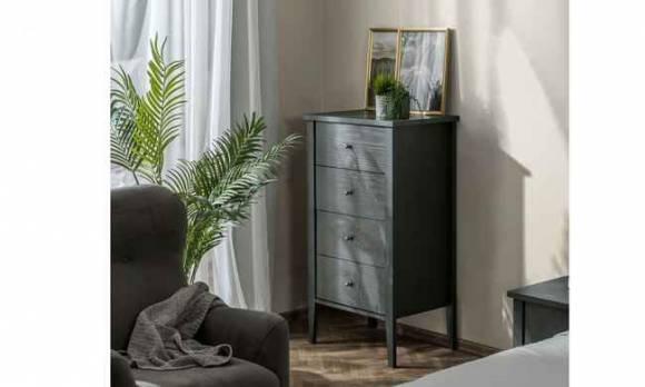 Evmoda Mobilya - Marsella Grey Çamaşırlık