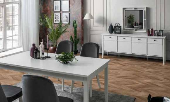 Evmoda Mobilya - Marsella Modern Yemek Odası Takımı (1)