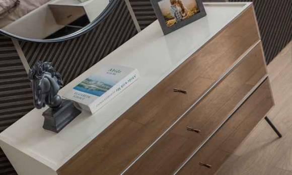 Evmoda Mobilya - Mikanos Şifonyer ve Aynası (1)