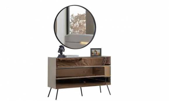 Evmoda Mobilya - Mikanos Şifonyer ve Aynası