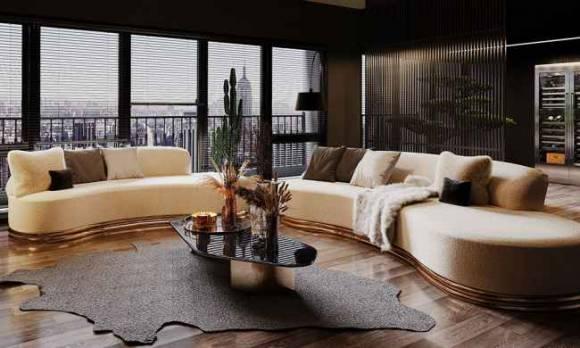 Evmoda Mobilya - Modern Salon Dekorasyon Projemiz
