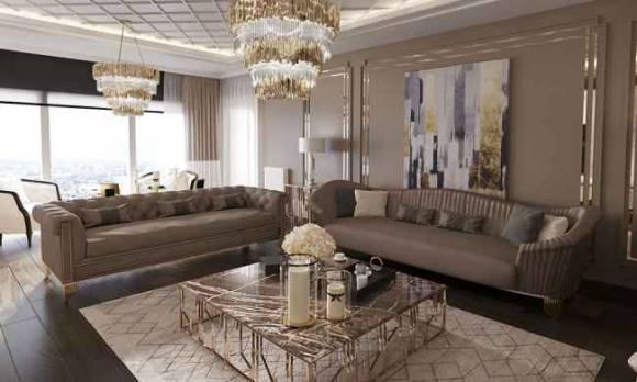 Evmoda Mobilya - Modern Salon Dekorasyon Projemiz (1)