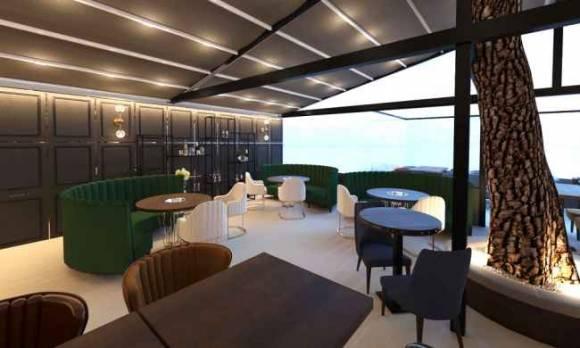 Evmoda Mobilya - Modern Tasarım Restoran Cafe Projesi
