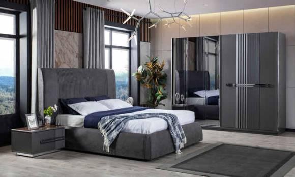 Evmoda Mobilya - Monza Modern Yatak Odası Takımı