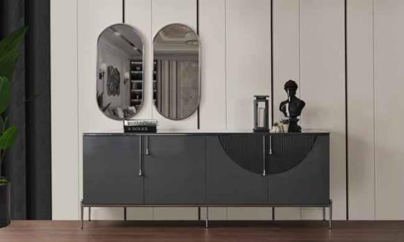 Evmoda Mobilya - Napoli Konsol ve Aynası