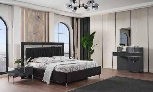 Evmoda Mobilya - Napoli Modern Yatak Odası Takımı (1)