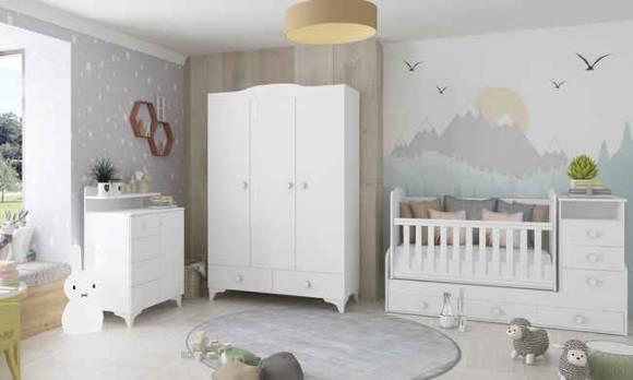 Evmoda Mobilya - Nevada Bebek Odası Takımı