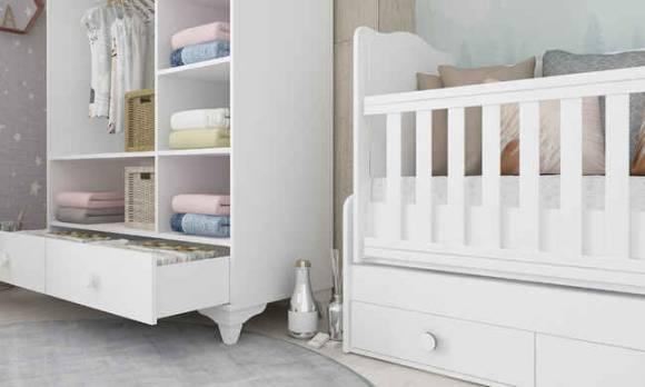 Evmoda Mobilya - Nevada Bebek Odası Takımı (1)