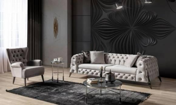 Evmoda Mobilya - New Scala Chester Koltuk Takımı (1)