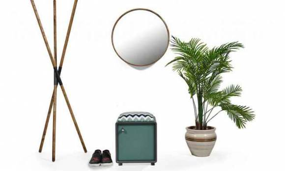 Evmoda Mobilya - Nina Puf ve Ayna