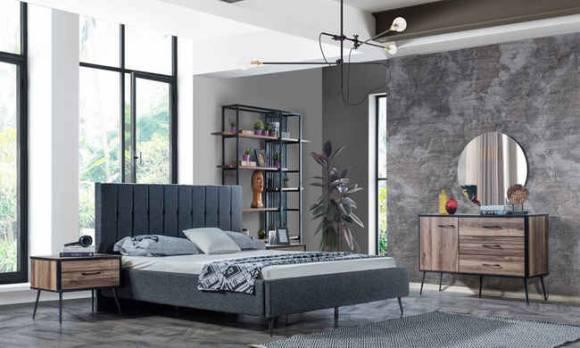 Evmoda Mobilya - Nisa Modern Yatak Odası Takımı (1)