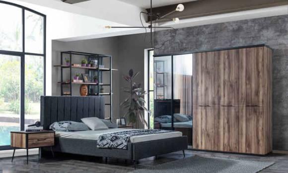 Evmoda Mobilya - Nisa Modern Yatak Odası Takımı