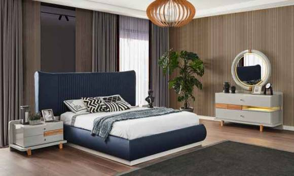 Evmoda Mobilya - Nosse Modern Yatak Odası Takımı (1)