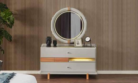 Evmoda Mobilya - Nosse Şifonyer ve Aynası