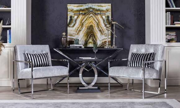 Evmoda Mobilya - Notre Art Deco Koltuk Takımı (1)
