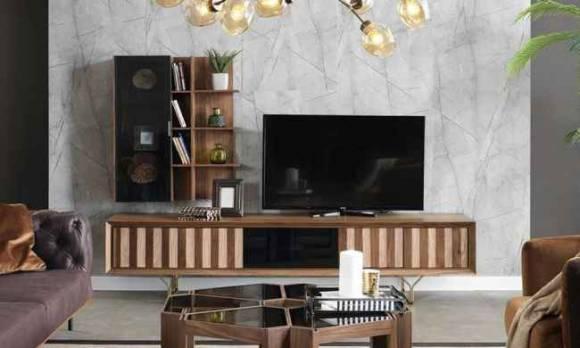 Evmoda Mobilya - Okyanus Modern Tv Ünitesi (1)