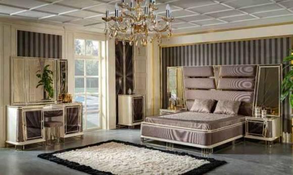 Evmoda Mobilya - Olimpos Art Deco Yatak Odası Takımı (1)