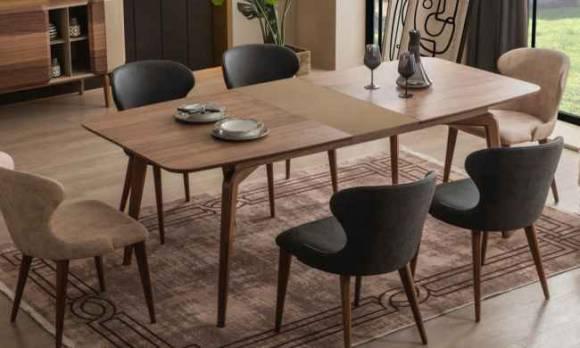 Evmoda Mobilya - Olive Modern Yemek Odası Takımı (1)