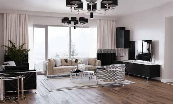 Evmoda Mobilya - Oturma Odası Tasarım Projemiz
